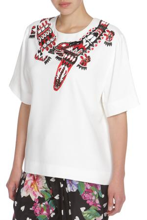 Блуза MSGM. Цвет: белый