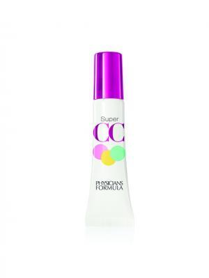 Сc Консилер-праймер для век корректирующий Super CC Blurring Eye Cream тон светлый/средний 10 г Physicians Formula. Цвет: бежевый
