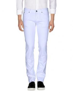 Джинсовые брюки MELTIN POT. Цвет: белый