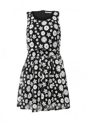 Платье Brigitte Bardot. Цвет: черно-белый