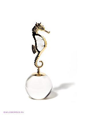 Фигурка Морской конек Юнион. Цвет: золотистый