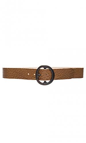 Поясной ремень pebble B-Low the Belt. Цвет: коричневый