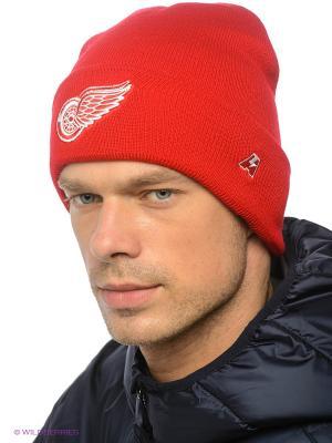 Шапка NHL Red Wings Atributika & Club. Цвет: красный