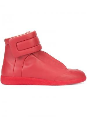 Кроссовки-хайтопы Future Maison Margiela. Цвет: красный