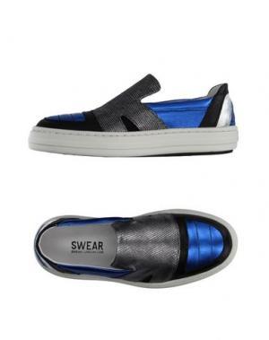 Низкие кеды и кроссовки SWEAR-LONDON. Цвет: ярко-синий