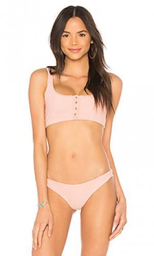 Топ alana Frankies Bikinis. Цвет: rose
