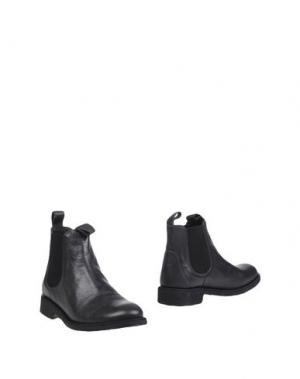Полусапоги и высокие ботинки ANGULUS. Цвет: стальной серый