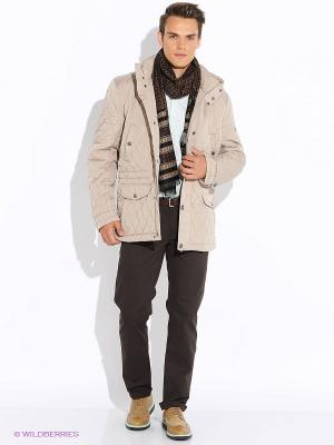 Куртка Finn Flare. Цвет: бежевый
