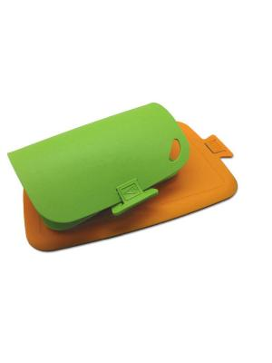 Комплект из двух досок ШЕФ. Цвет: зеленый, оранжевый