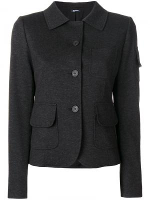 Куртка-рубашка Jil Sander Navy. Цвет: чёрный