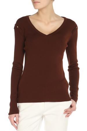 Пуловер Annapurna. Цвет: коричневый
