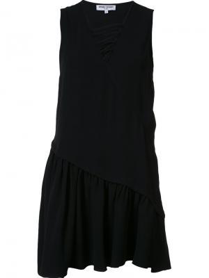 Платье c V-образным вырезом Opening Ceremony. Цвет: чёрный