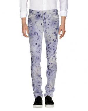 Джинсовые брюки MAISON MARGIELA 10. Цвет: сиреневый