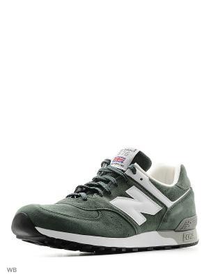 Кроссовки 576 New balance. Цвет: зеленый
