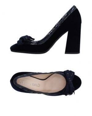 Туфли LELLA BALDI. Цвет: темно-синий