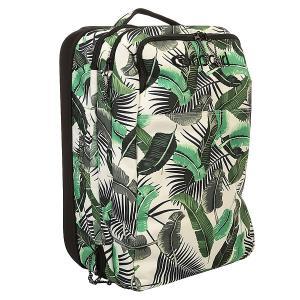 Сумка дорожная женская  Palm Island Cabin Trolley White Rip Curl. Цвет: белый,зеленый