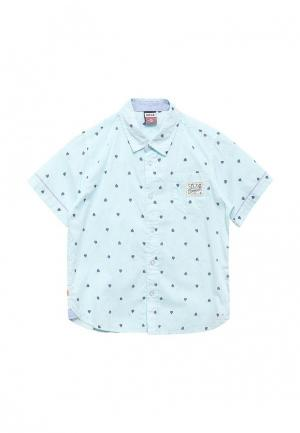 Рубашка Sela. Цвет: бирюзовый