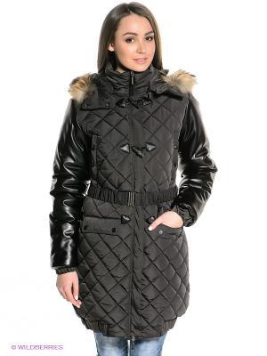 Пальто Sport Vision. Цвет: темно-коричневый, черный