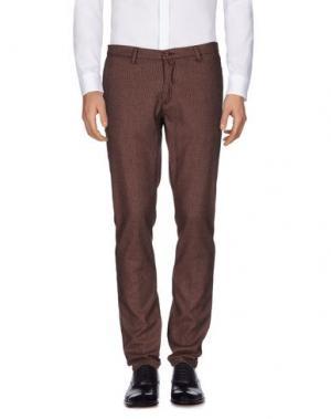 Повседневные брюки BARBATI. Цвет: красно-коричневый