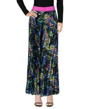 Длинная юбка DV Roma. Цвет: ярко-синий