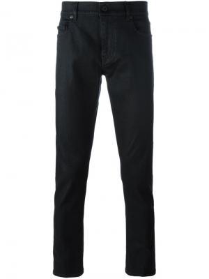 Зауженные джинсы Pence. Цвет: чёрный