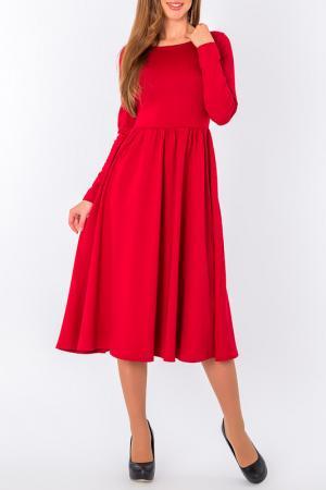 Платье S&A style. Цвет: бордовый