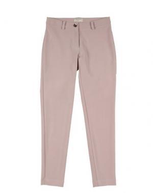 Повседневные брюки MONNALISA CHIC. Цвет: розовый