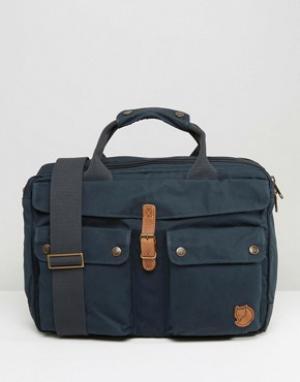 Fjallraven Темно-синяя сумка для ноутбука Greenland 14L. Цвет: темно-синий