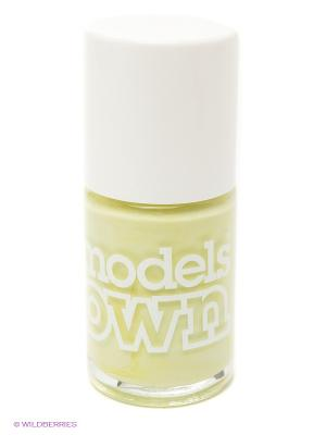 Лак для ногтей, Cream Sticky Fingers Pastel Petal Green  Models Own. Цвет: желтый
