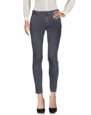 Повседневные брюки J.CUBE. Цвет: серый