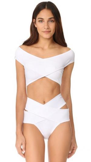 Бикини Lucette OYE Swimwear. Цвет: белый