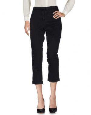 Повседневные брюки BRIAN DALES. Цвет: темно-синий