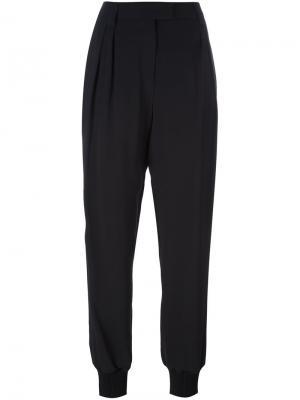 Зауженные брюки Emanuel Ungaro. Цвет: чёрный
