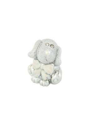 Фигурка декоративная Собака Elan Gallery. Цвет: серебристый, белый