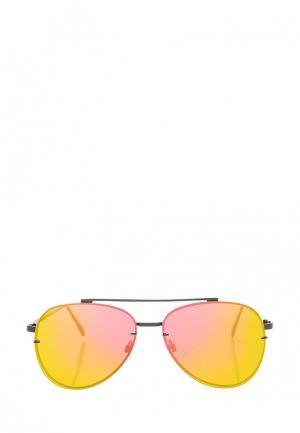 Очки солнцезащитные Topshop. Цвет: серый