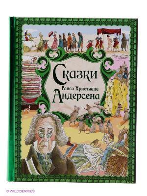 Книга Сказки Г. Х. Андерсена Эксмо. Цвет: зеленый