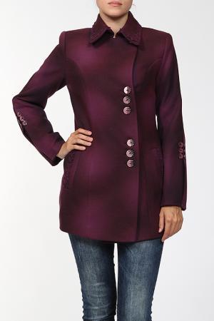 Пальто World Style. Цвет: мультицвет