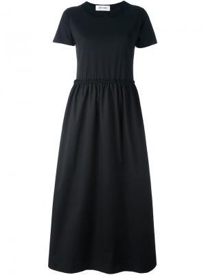 Платье с короткими рукавами Collar Jimi Roos. Цвет: чёрный
