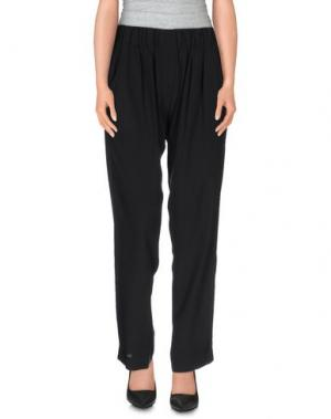 Повседневные брюки FAIRLY. Цвет: черный