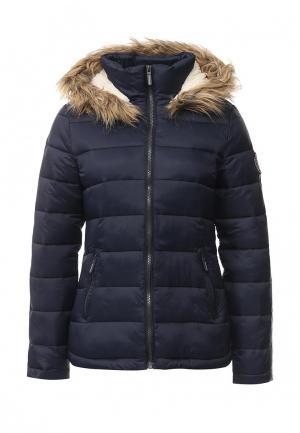 Куртка утепленная Springfield. Цвет: синий