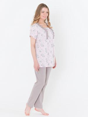 Пижама Лори. Цвет: розовый