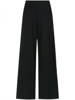 Wide leg trousers Egrey. Цвет: чёрный