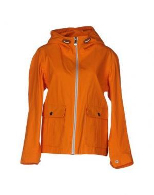 Куртка GLOVERALL. Цвет: оранжевый
