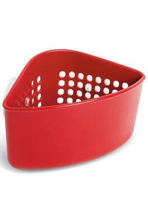 Уголок для раковины Caddy UMBRA. Цвет: красный