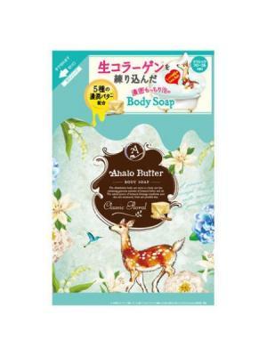 Жидкое мыло для тела с тропическими маслами  ароматом цветов и свежести, 420 мл AHALO BUTTER. Цвет: зеленый