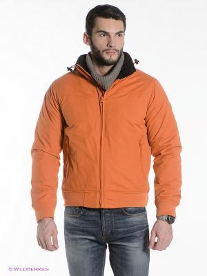 Куртка Think Pink. Цвет: оранжевый