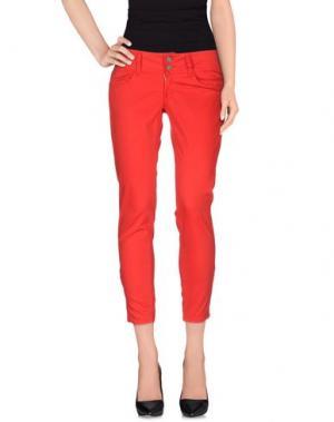 Повседневные брюки LE TEMPS DES CERISES. Цвет: красный