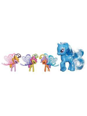 Пони Делюкс с волшебными крыльями Hasbro. Цвет: синий