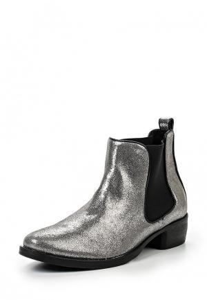Ботинки Wojas. Цвет: серебряный