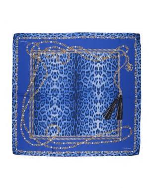 Платок ROBERTO CAVALLI. Цвет: синий